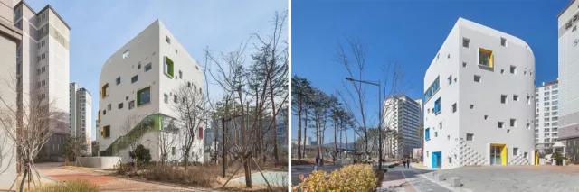首尔幼儿园设计|空间结构与色彩搭配_3