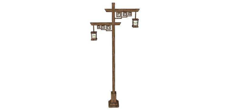 中式灯模型分享给大家!
