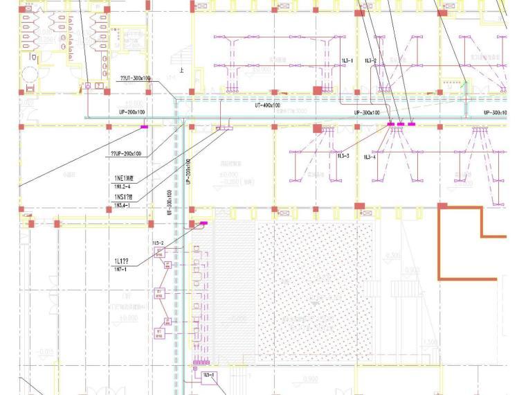 地下一层及一层配电干线平面图.jpg