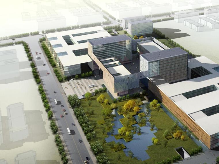 [北京]金碟软件园企业办公楼建筑方案文本(PDF+109页)