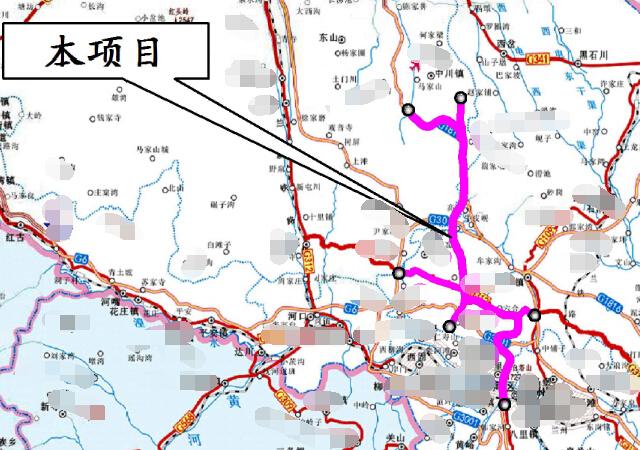 2016年设计82km国家高速公路工程初步设计图全套48册PDF(总体路线路桥隧交叉交通景观)