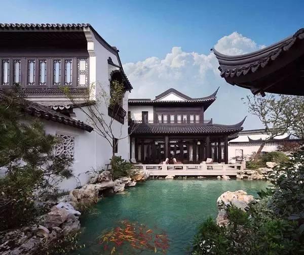 中国9大顶级新中式别墅,这才是真正的豪宅范!