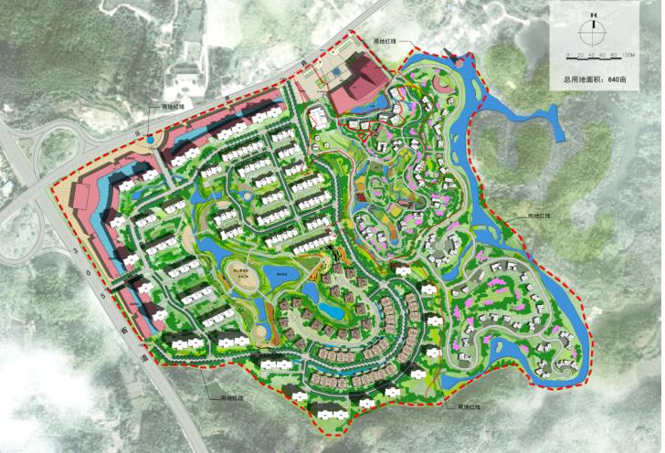 景民汇源全福名族文化旅游小镇建筑设计方案文本