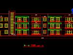 3层砖混局部2层框架小区幼儿园施工图设计