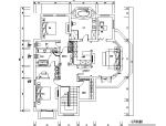 【江苏】欧式雅致奢华独栋别墅设计施工图(附效果图)