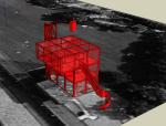 建筑设计大师屈米拉维莱特公园SU模型