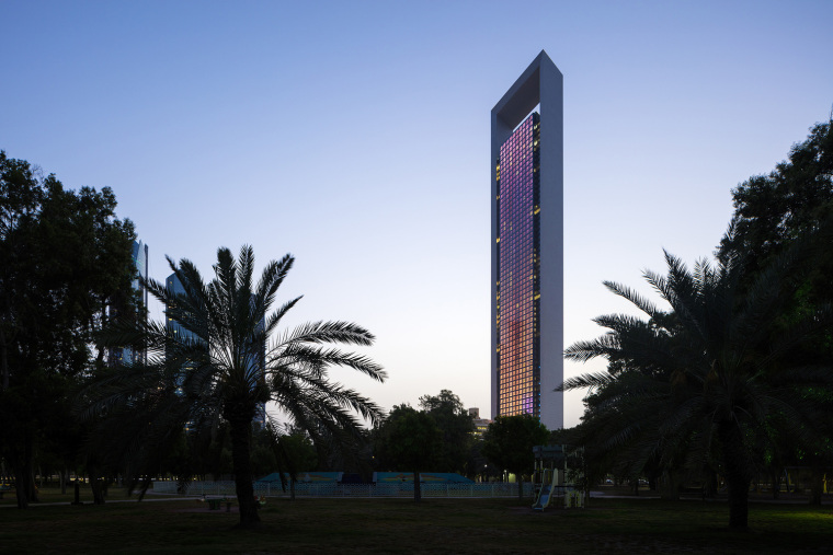 阿布扎比国家石油优雅而简约的公司总部
