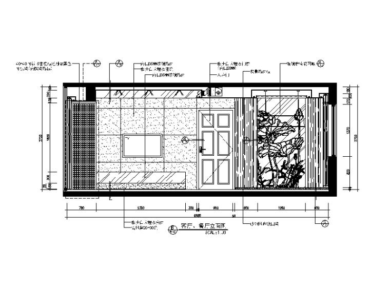 【广东】现代中式风格别墅设计CAD施工图(含效果图)_2