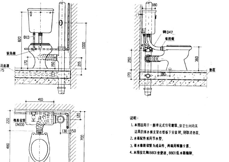 建筑设备施工安装图册-卫生工程