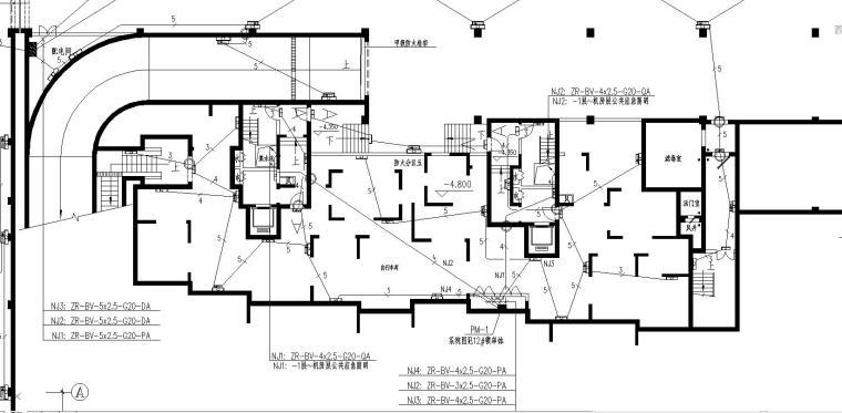 某小区高层地下室电气施工图_6