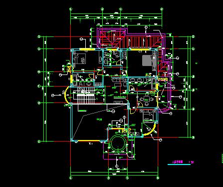 经典别墅建筑图纸_4
