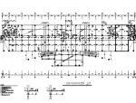 七层框架结构办公楼结构施工图(CAD、24张)
