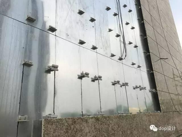 解析|外墙干挂石材幕墙标准化施工流程!_3