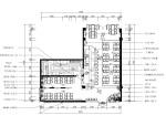 [四川]成都万达广场韩国料理店室内装修施工图设计方案
