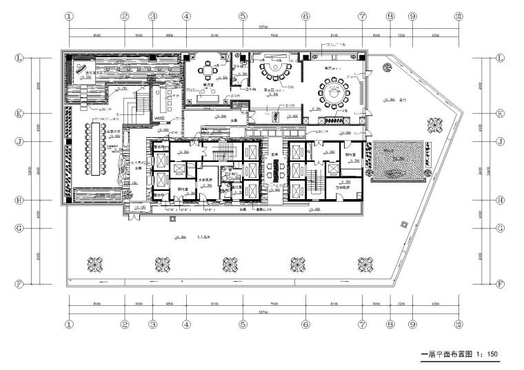 inWe因味茶梅龙镇广场资料下载-鄂尔多斯金融广场K座茶楼概念方案及施工图