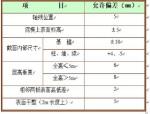 天然基础施工方案(全面)Word版(共13页)
