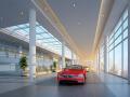 (原创)汽车4S店室内设计案例效果图