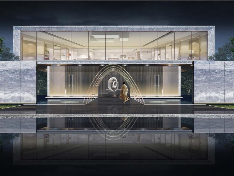 [杭州]未来城展览区景观规划设计(新中式风格)
