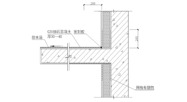 空调机隔板构造