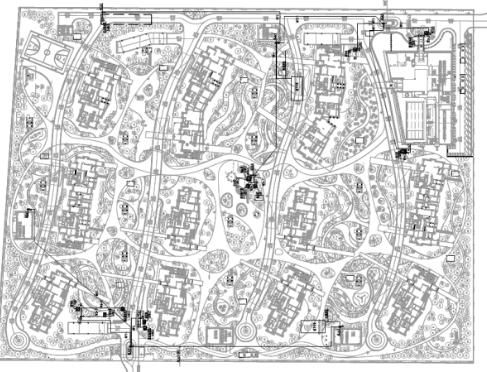 宁夏地区框架结构图资料下载-苏州住宅项目景观电气施工图