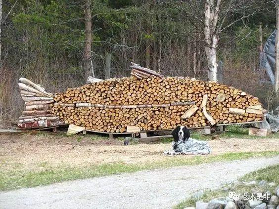 乡村创意木头景观,化腐朽为神奇~