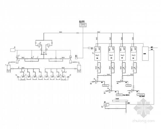 加氯系统原理图