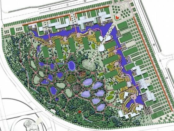 [天津]经典棕地改造生态湿地公园景观设计方案(北京著名景观公司)