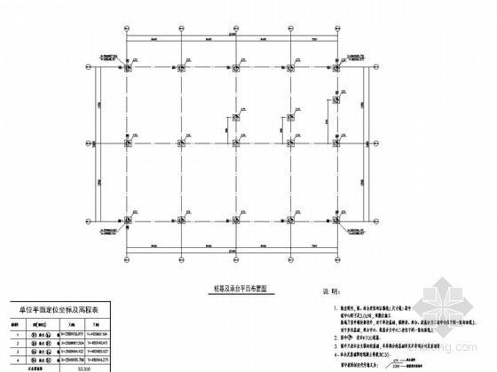 [江西]地上二层现浇框架结构商业中心结构施工图