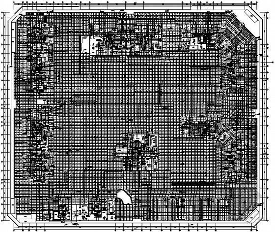 [四川]高档小区地下室自动喷淋系统详图