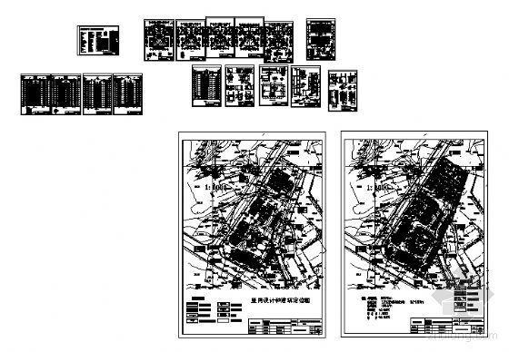 宜宾某小区住宅楼群建筑结构施工图-3