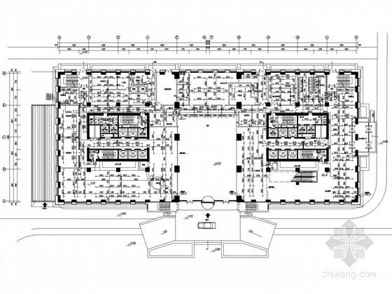 [山西]三十二层知名酒店给排水施工图(中水系统 压力排水)
