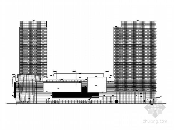 [沈陽]高層塔式辦公樓及商業綜合廣場建筑施工圖(190張超詳細)