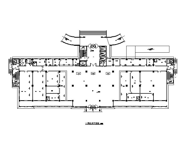 湖北医院十八层住院部暖通设计施工图