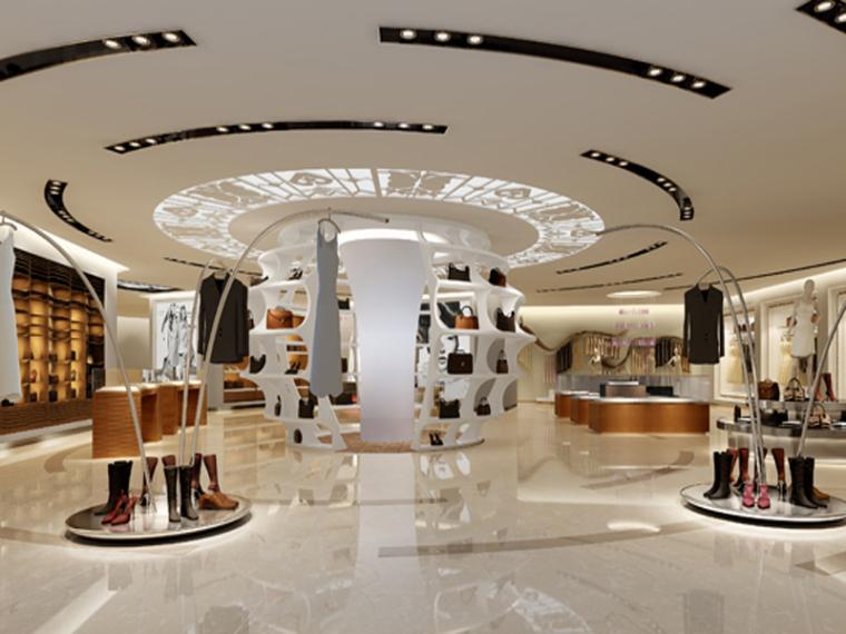 时尚服装店3D模型下载