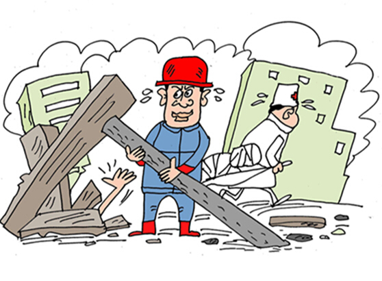 南靖一水泥厂工棚坍塌,4人不幸遇难!