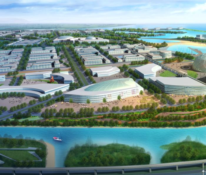 [上海]蓝色港湾旅游区概念性景观规划设计_13