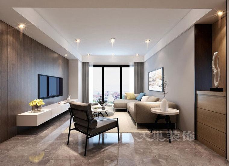 东润泰和160平四室两厅装修设计方案现代简约案例