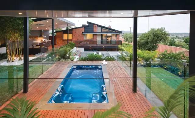 赶紧收藏!21个最美现代风格庭院设计案例_40