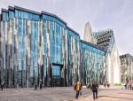青色玻璃下,学校主楼与教堂的结合——德国莱比锡大学帕琳奈教堂