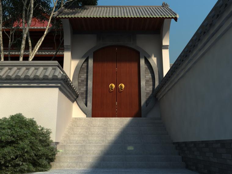 日式禅宗庭园结合禅宗美学设计案例——永福寺_19