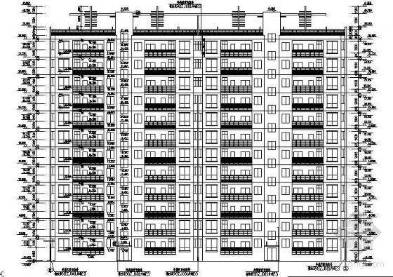 某小高层整套图纸(建筑、结构、给排水、电气)