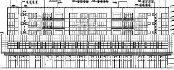 某商住楼全套建筑施工图