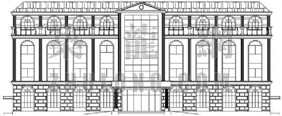 某欧式综合办公楼建筑设计方案