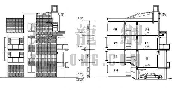 城镇居民新型住宅[方案]-4