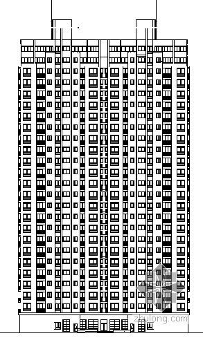 东方城市花园幼托楼建筑施工图