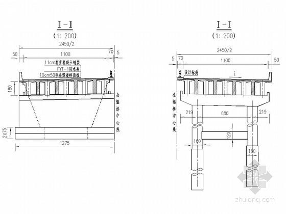 30mT型连续钢构组合梁桥全套施工图(48张)