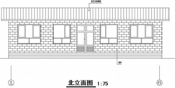 单层砖混住宅全套施工图