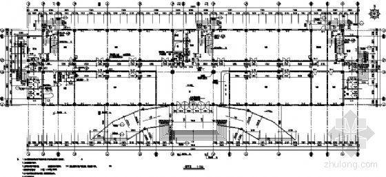 某厂区九层办公楼建筑方案图-3