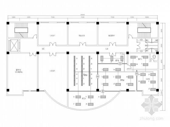 [四川]办公楼中心机房电气图纸