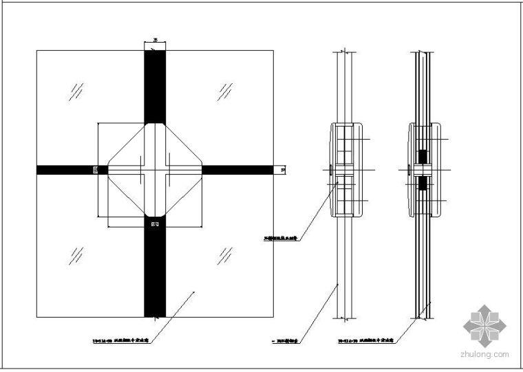 某工程单索幕墙结构设计图_2